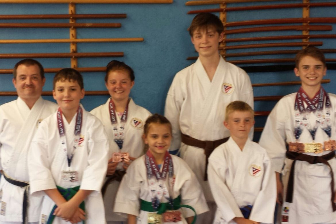 Karate Team Scores Big at Nationals