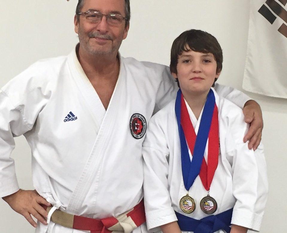 Hamner Wins National Championships in     Karate